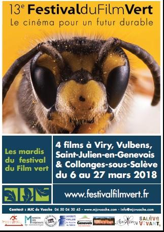 Affiche festival du film vert 2018