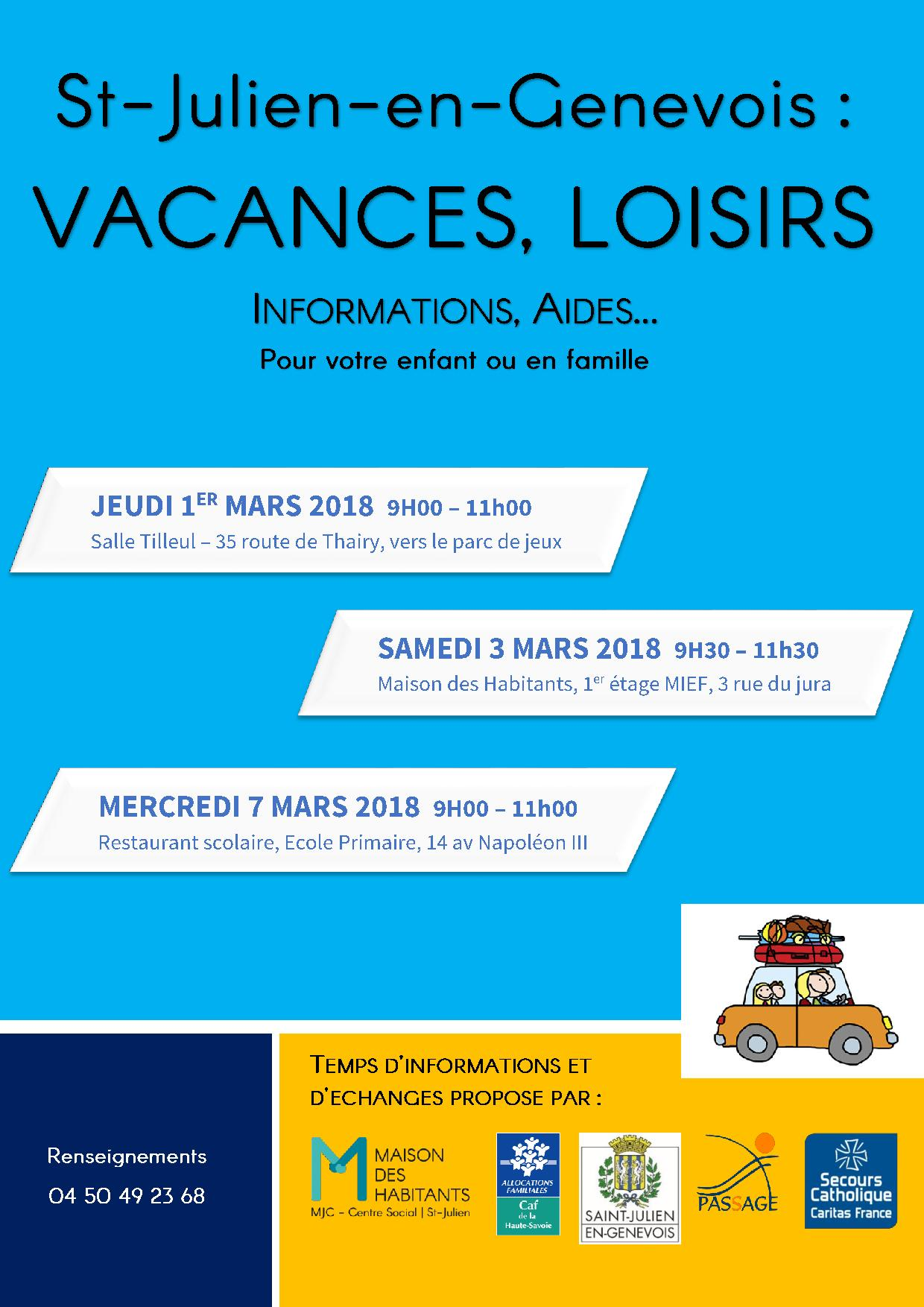 aide caf vacance 2018