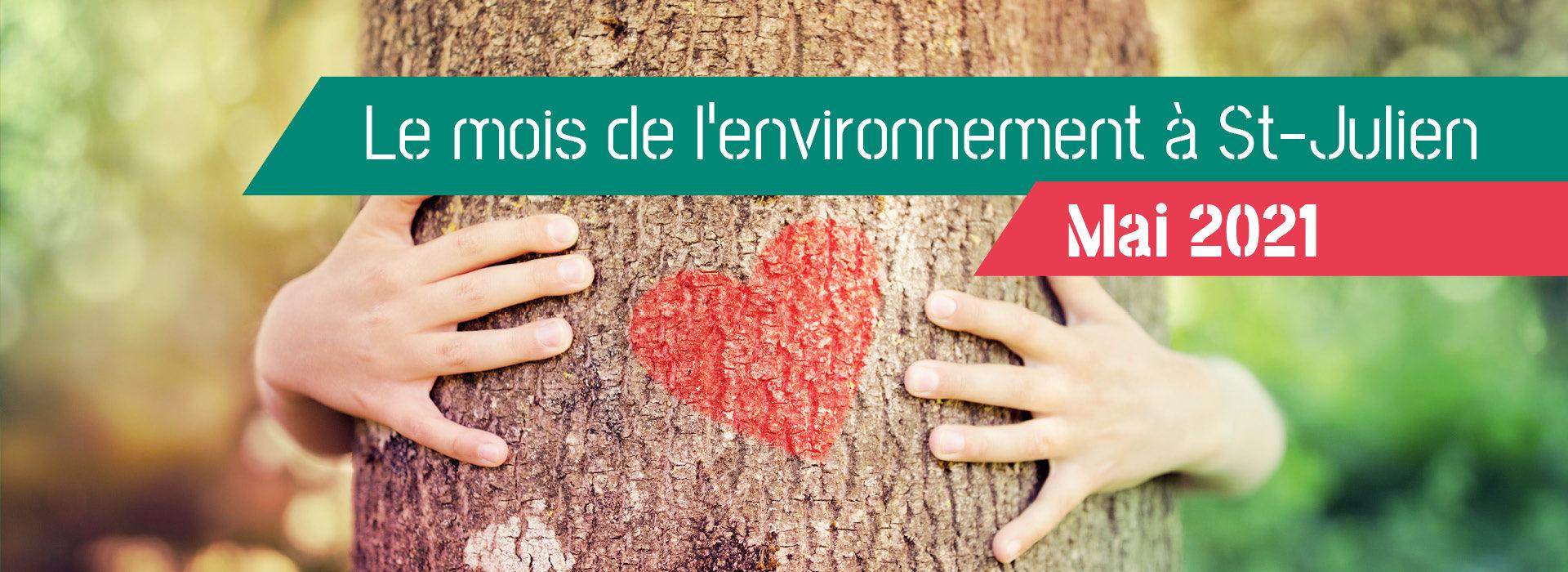 Le mois de l'environnement
